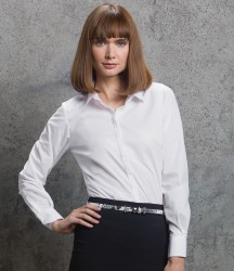 Kustom Kit Ladies Long Sleeve Tailored Contemporary Business Shirt image