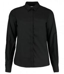 Kustom Kit Ladies Long Sleeve Contemporary Business Shirt image