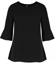 Image 1 of Clayton and Ford Ladies Regular Fit Fluted Sleeve Top