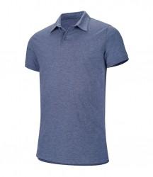 Kariban Melange Jersey Polo Shirt image