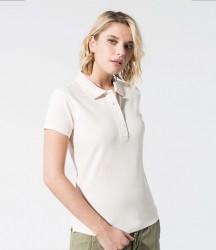Kariban Ladies Organic Piqué Polo Shirt image