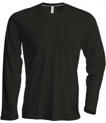 Kariban Long Sleeve Crew Neck T-Shirt image