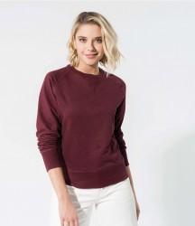 Kariban Ladies Organic Raglan Sweatshirt image