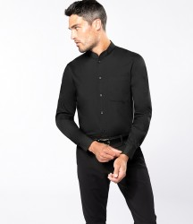 Kariban Long Sleeve Mandarin Collar Shirt image
