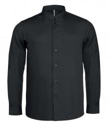 Kariban Long Sleeve Mandarin Collar Shirt image
