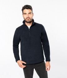 Kariban Enzo Zip Neck Micro Fleece image