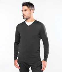 Kariban Cotton Acrylic V Neck Sweater image