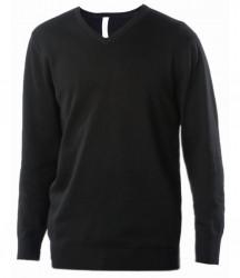 Kariban Cotton Acrylic V Neck Sweater image