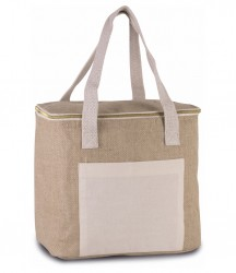 Kimood Medium Jute Cool Bag image