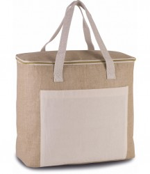 Kimood Large Jute Cool Bag image