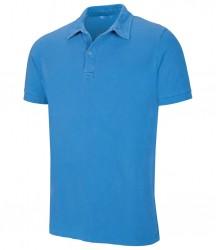 Kariban Vintage Washed Effect Piqué Polo Shirt image