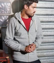 Kariban Vintage Zip Hooded Sweatshirt image