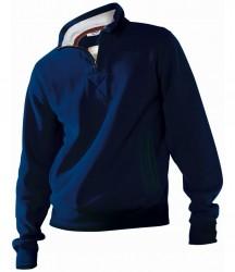 Kariban Vintage Zip Neck Sweatshirt image