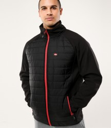Lee Cooper Park Quilted Soft Shell Jacket image