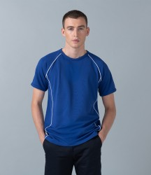 Finden & Hales Piped Performance T-Shirt image