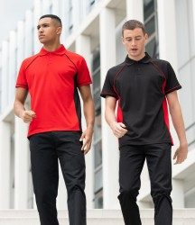 Finden & Hales Performance Panel Polo Shirt image