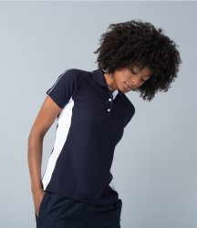 Finden & Hales Ladies Sports Cotton Piqué Polo Shirt image