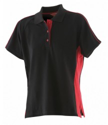 Image 3 of Finden and Hales Ladies Sports Cotton Piqué Polo Shirt
