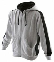 Image 4 of Finden and Hales Contrast Zip Hooded Sweatshirt