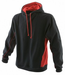 Image 2 of Finden and Hales Contrast Hooded Sweatshirt