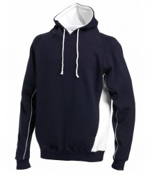 Image 4 of Finden and Hales Contrast Hooded Sweatshirt