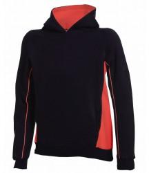 Image 2 of Finden and Hales Kids Contrast Hooded Sweatshirt