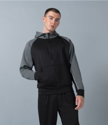 Finden and Hales Panelled Sports Hoodie image