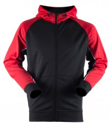 Image 2 of Finden and Hales Panelled Sports Hoodie