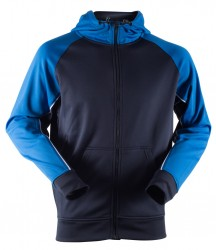 Image 4 of Finden and Hales Panelled Sports Hoodie