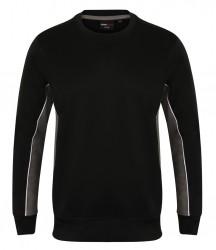 Image 2 of Finden and Hales Contrast Crew Neck Sweatshirt