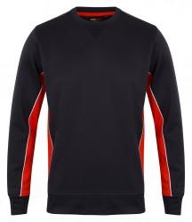 Image 4 of Finden and Hales Contrast Crew Neck Sweatshirt