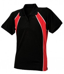 Image 2 of Finden and Hales Ladies Performance Team Polo Shirt