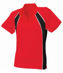 Image 3 of Finden and Hales Ladies Performance Team Polo Shirt