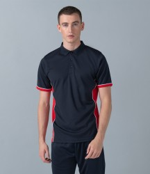 Finden & Hales Contrast Panel Polo Shirt image