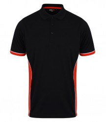 Image 2 of Finden and Hales Contrast Panel Polo Shirt