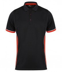 Image 3 of Finden and Hales Contrast Panel Polo Shirt
