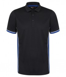 Image 4 of Finden and Hales Contrast Panel Polo Shirt