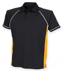 Image 11 of Finden and Hales Performance Piped Polo Shirt