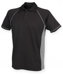 Image 13 of Finden and Hales Performance Piped Polo Shirt
