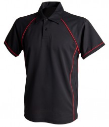 Image 14 of Finden and Hales Performance Piped Polo Shirt