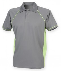 Image 16 of Finden and Hales Performance Piped Polo Shirt