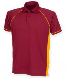 Image 17 of Finden and Hales Performance Piped Polo Shirt