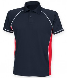 Image 18 of Finden and Hales Performance Piped Polo Shirt