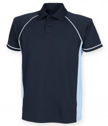 Image 19 of Finden and Hales Performance Piped Polo Shirt