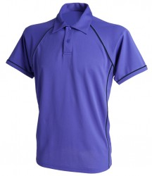 Image 5 of Finden and Hales Performance Piped Polo Shirt