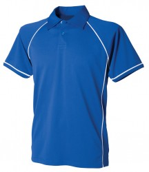 Image 7 of Finden and Hales Performance Piped Polo Shirt