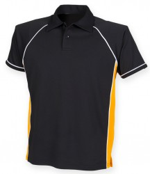 Image 2 of Finden and Hales Kids Performance Piped Polo Shirt