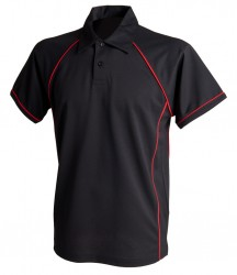 Image 3 of Finden and Hales Kids Performance Piped Polo Shirt