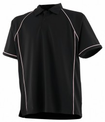 Image 4 of Finden and Hales Kids Performance Piped Polo Shirt