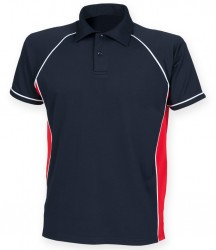 Image 6 of Finden and Hales Kids Performance Piped Polo Shirt